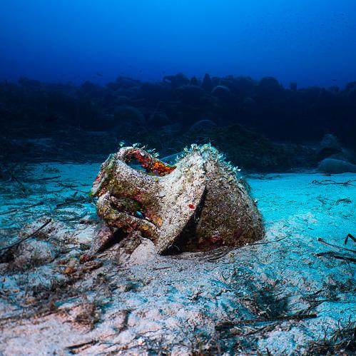 Peristera shipwreck - Alonisson Island - Greece