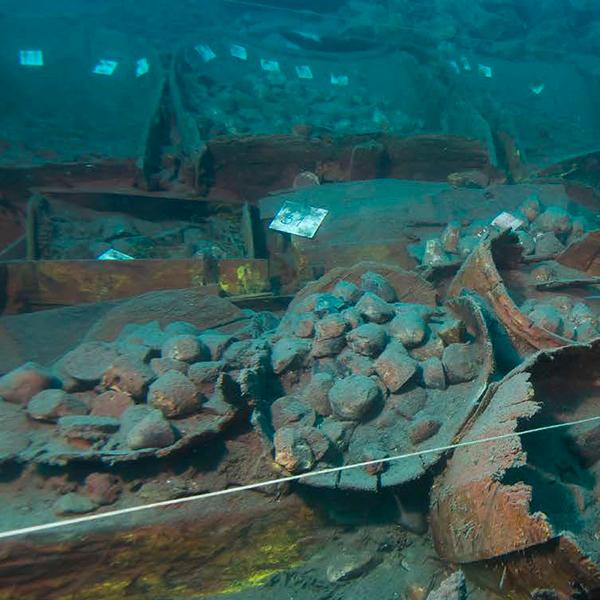 Gnalic shipwreck - Zadar - Croatia