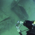 Underwater photogrammetry of Oreste Shipwreck in Montenegro